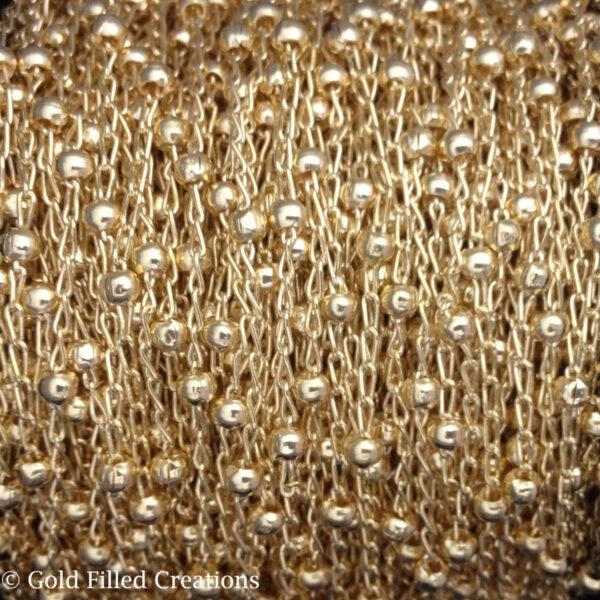 Gold chain Satellite