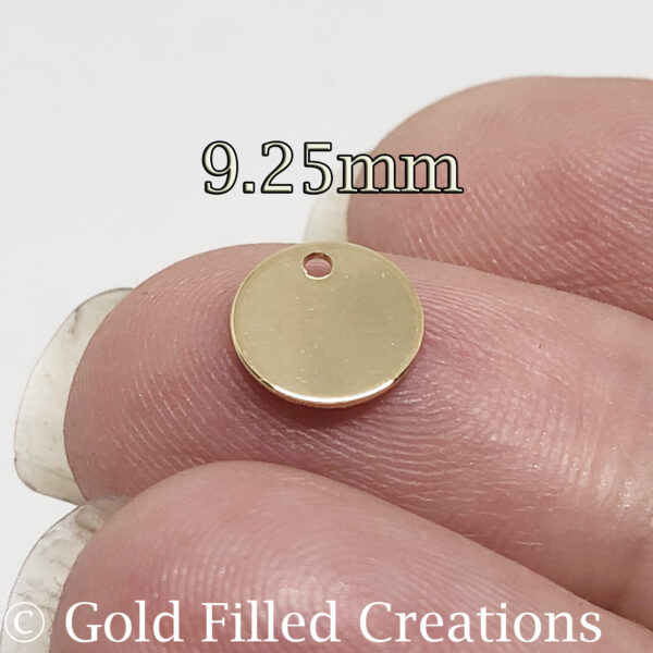 Gold Filled Stamping Blanks Round