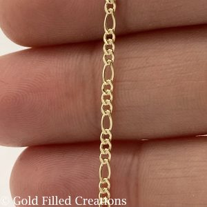 Gold Filled Chain Figaro